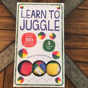Other - NWT Learn to Juggle activity